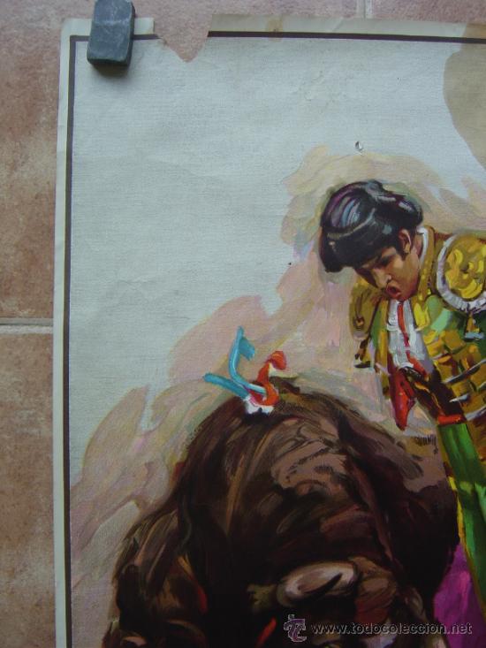 Carteles Toros: PLAZA DE TOROS DE AZUQUECA (GUADALAJARA) 1985 LITOGRAFIA- ILUSTRADOR: CROS ESTREMS - Foto 4 - 108867343