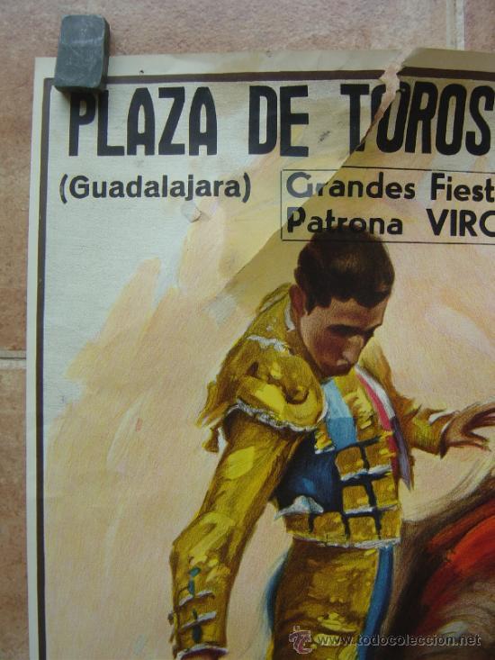 Carteles Toros: PLAZA DE TOROS DE TRUJILLO (GUADALAJARA) 1985 LITOGRAFIA- ILUSTRADOR: J.REUS - Foto 4 - 37758094