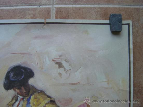 Carteles Toros: SAN FERMINES 1992 LITOGRAFIA- ILUSTRADOR: CROS ESTREMS - Foto 4 - 122071628