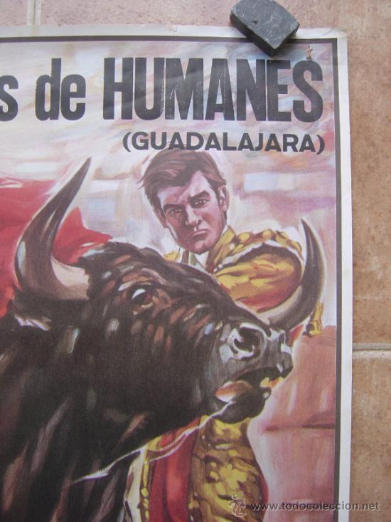 Carteles Toros: PLAZA DE TOROS DE HUMANES (GUADALAJARA) 1992 LITOGRAFIA- ILUSTRADOR: SAGUSTY - Foto 5 - 37758192