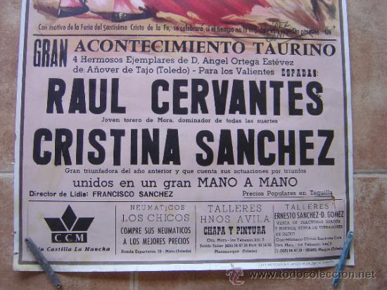 Carteles Toros: PLAZA DE TOROS DE MANZANEQUE 1992 - LITOGRAFIA - ILUSTRADOR: LOPEZ CANITO - Foto 2 - 37773799