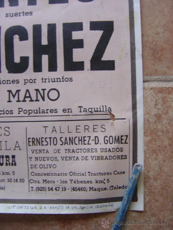 Carteles Toros: PLAZA DE TOROS DE MANZANEQUE 1992 - LITOGRAFIA - ILUSTRADOR: LOPEZ CANITO - Foto 6 - 37773799