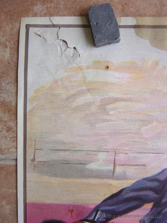 Carteles Toros: PLAZA DE TOROS DE LA VILLA DE VALDEPIELAGOS 1980 LITOGRAFIA - ILUSTRADOR: CROS ESTREMS - Foto 4 - 37790609