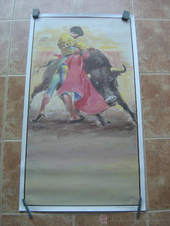 CARTEL DE TOROS SIN IMPRIMIR ILUSTRADOR : DONAT SAURI (Coleccionismo - Carteles Gran Formato - Carteles Toros)