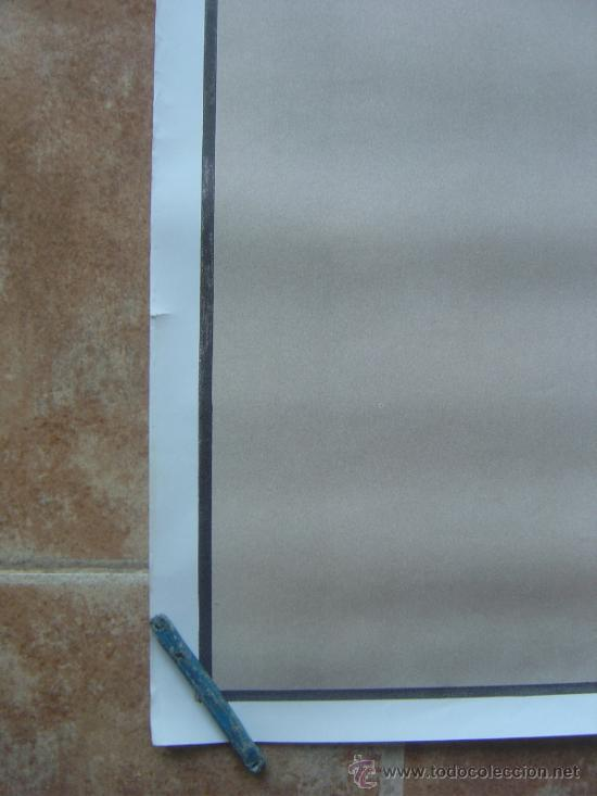 Carteles Toros: CARTEL DE TOROS SIN IMPRIMIR LITOGRAFIA ILUSTRADOR : ALVAREZ CARMENAS - Foto 6 - 38042166