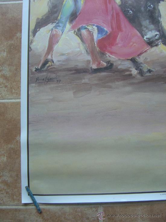Carteles Toros: CARTEL DE TOROS SIN IMPRIMIR ILUSTRADOR : DONAT SAURI - Foto 6 - 137430092