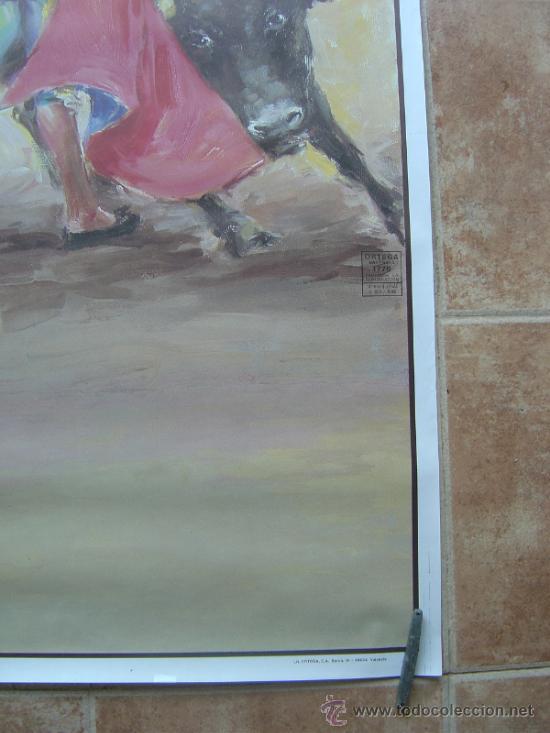 Carteles Toros: CARTEL DE TOROS SIN IMPRIMIR ILUSTRADOR : DONAT SAURI - Foto 5 - 137430092