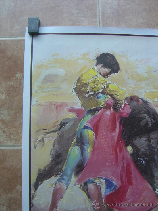 Carteles Toros: CARTEL DE TOROS SIN IMPRIMIR ILUSTRADOR : DONAT SAURI - Foto 3 - 137430092