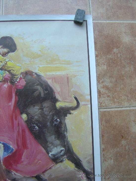 Carteles Toros: CARTEL DE TOROS SIN IMPRIMIR ILUSTRADOR : DONAT SAURI - Foto 2 - 137430092