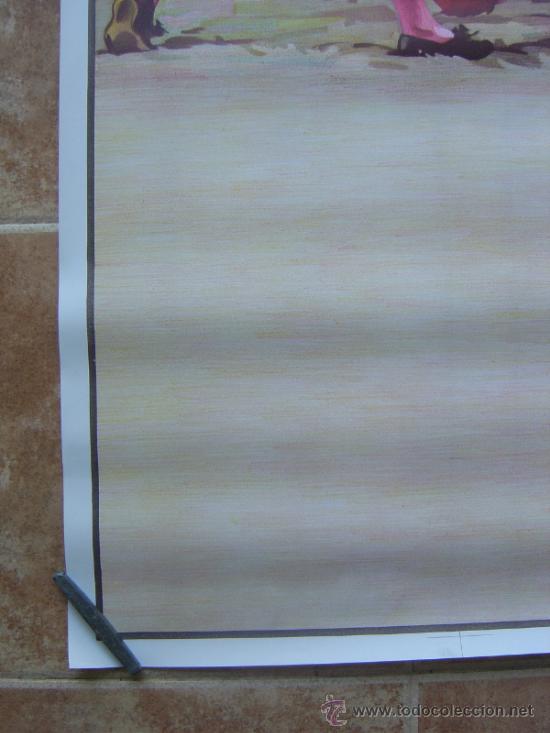 Carteles Toros: CARTEL DE TOROS SIN IMPRIMIR - LITOGRAFIA- ILUSTRADOR CROS ESTREMS - Foto 5 - 38058647
