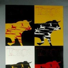 Carteles Toros: OOOLÉ! CARTEL FERIA TOROS SAN ISIDRO 2002 DISEÑO JACINTO GUTIERREZ 113/300 UD LÍMITE/DESIGN. Lote 38657587
