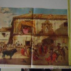 Carteles Toros: CARTEL DE TOROS OSBORNE PLAZA DE LA HERRERIA . Lote 39329482