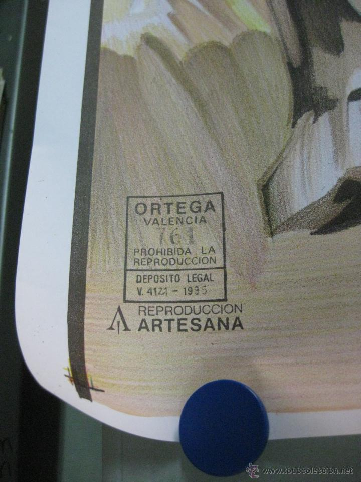 Carteles Toros: CARTEL TOROS - ILUSTRADOR: RUANO LLOPIS - SIN IMPRIMIR - LITOGRAFIA - Foto 3 - 169873336