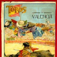 Carteles Toros: CARTEL TOROS, PLAZA DE VALENCIA , FERIA 1915, GALLO GALLITO BELMONTE, ORIGINAL RB. Lote 172217578