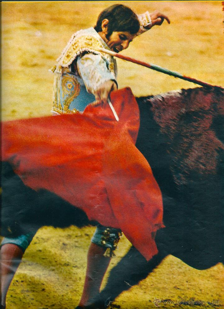 TOROS: MINIPÓSTER DE MANUEL BENÍTEZ EL CORDOBÉS. HACIA 1970 (Coleccionismo - Carteles Gran Formato - Carteles Toros)