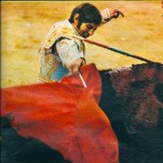 Carteles Toros: TOROS: MINIPÓSTER DE MANUEL BENÍTEZ EL CORDOBÉS. HACIA 1970. Lote 40530556