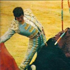 Carteles Toros: TOROS: MINIPÓSTER DE MANUEL BENÍTEZ EL CORDOBÉS. HACIA 1970. Lote 40530574