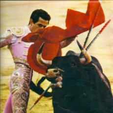 Carteles Toros: TOROS: MINIPÓSTER DE SANTIAGO MARTÍN EL VITI. HACIA 1970. Lote 40530588