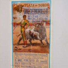 Carteles Toros: PLAZA DE TOROS DE VALDEMORILLO. 31 DE ENERO,4, 5, 6, Y 7 DE FEFRERO 1982.. Lote 42569845