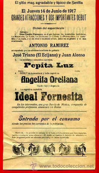 Carteles Toros: CARTEL TOROS, PLAZA DE SEVILLA , 1917, JUAN NUÑEZ ,FRANCISCO DIAZ, CON PUBLICIDAD , ORIGINAL M228 - Foto 4 - 42570154