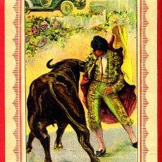 Carteles Toros: CARTEL TOROS, PLAZA VALENCIA , 1916 , VAQUERITO BALLESTEROS ZARCO , ORIGINAL. F23. Lote 42571194