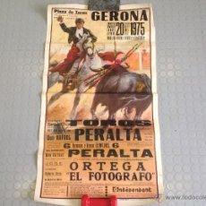 Carteles Toros: DOS CARTELES DE TOROS. Lote 42760986