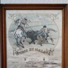 Carteles Toros: CARTEL DE CORRIDA DE TOROS DE MALAGA 1979. Lote 43514913