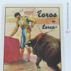 Carteles Toros: CARTEL DE TOROS EN LORCA, SABADO DE GLORIA 1949. Lote 44567048