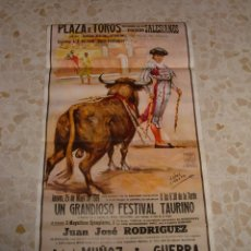 Carteles Toros: CARTEL DE TOROS PLAZA DE BADAJOZ-COLEGIO SALESIANO 1989. Lote 44724404
