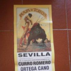 Carteles Toros: CARTEL DE TOROS SEVILLA 1991. Lote 45019493
