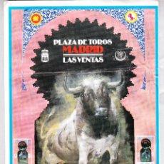 Carteles Toros: CARTEL DE TOROS LAS VENTAS MADRID 1994 .. Lote 45479862