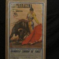 Carteles Toros: CARTEL CORRIDA PLAZA TOROS DE TARRAGONA-SETIEMBRE 1962. Lote 45988851