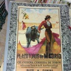 Carteles Toros: PLAZA DE TOROS DE MADRID - GRANDIOSA CORRIDA DE TOROS . MADRID: 1979. 52X97. CARTEL. NORMAL (CON SEÑ. Lote 49128206