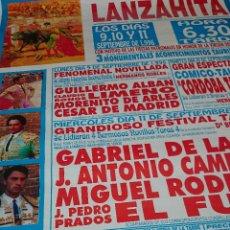 Carteles Toros: CARTEL DE 1996 PLAZA DE TOROS DE AVILA. Lote 49278203