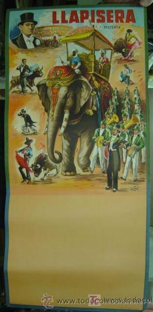 CARTEL TOROS - LLAPISERA - ILUSTRADOR: DONAT - AÑO 1959 - SIN IMPRIMIR (Coleccionismo - Carteles Gran Formato - Carteles Toros)