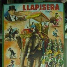 Carteles Toros: CARTEL TOROS - LLAPISERA - ILUSTRADOR: DONAT - AÑO 1959 - SIN IMPRIMIR. Lote 117702066