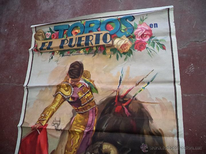 Carteles Toros: Enorme Cartel de Toros,Puerto de Santa María,Cádiz,más de dos metros,ideal decoración - Foto 5 - 49539414