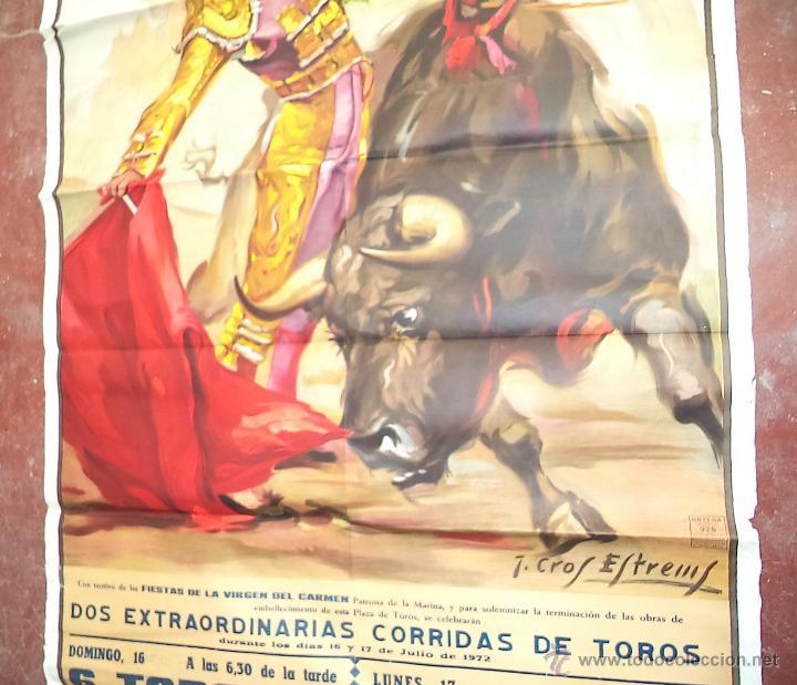 Carteles Toros: Enorme Cartel de Toros,Puerto de Santa María,Cádiz,más de dos metros,ideal decoración - Foto 6 - 49539414