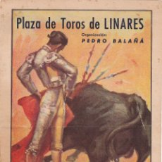 Carteles Toros: EXTRORDINARIO Y AUTENTICO CARTEL DE TOROS. Lote 49676571