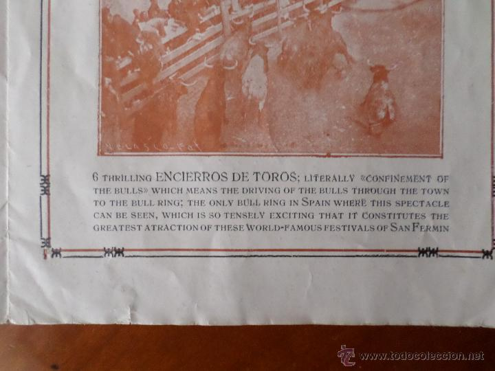 Carteles Toros: PROGRAMA FIESTAS DE PAMPLONA 1930 - Foto 7 - 50172044