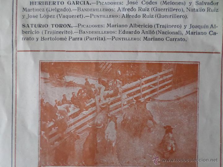 Carteles Toros: PROGRAMA FIESTAS DE PAMPLONA 1930 - Foto 8 - 50172044