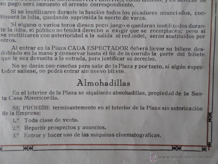 Carteles Toros: PROGRAMA FIESTAS DE PAMPLONA 1930 - Foto 15 - 50172044