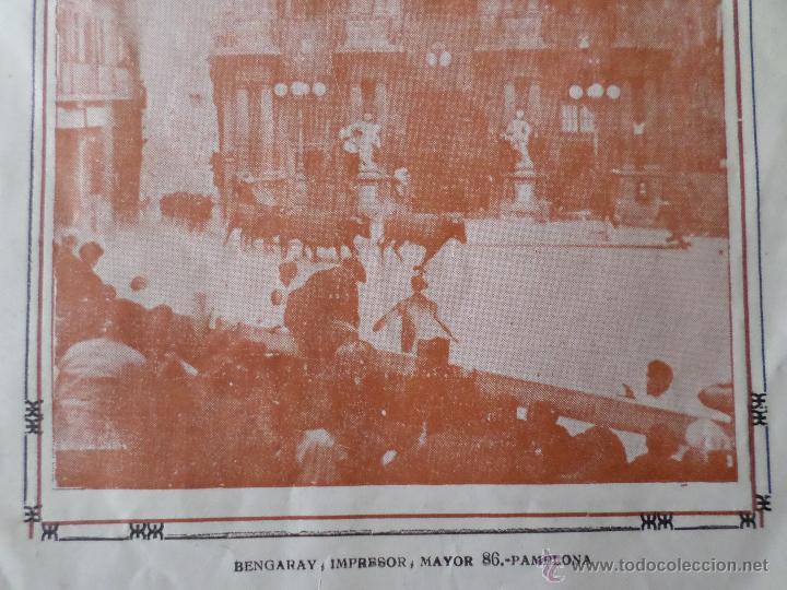 Carteles Toros: PROGRAMA FIESTAS DE PAMPLONA 1930 - Foto 16 - 50172044