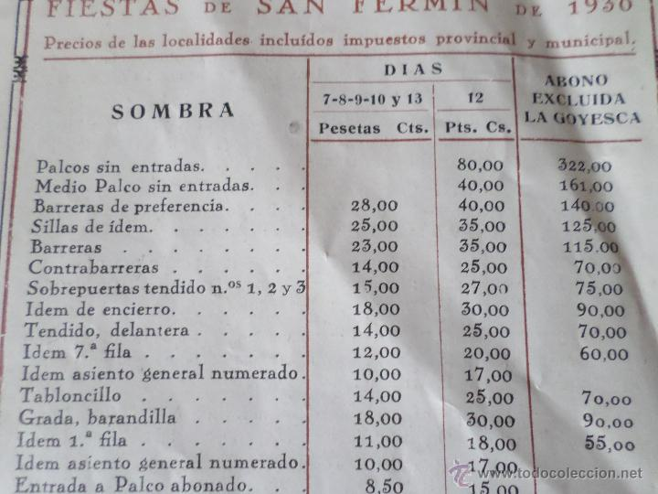 Carteles Toros: PROGRAMA FIESTAS DE PAMPLONA 1930 - Foto 21 - 50172044