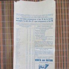 Carteles Toros: CARTEL DE TOROS MADRID. SAN ISIDRO 1981. Lote 50593437