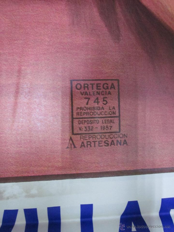 Carteles Toros: CARTEL GRANDE TOROS VALENCIA - AÑO 1992 - LITOGRAFIA - RUANO LLOPIS - Foto 4 - 51354641