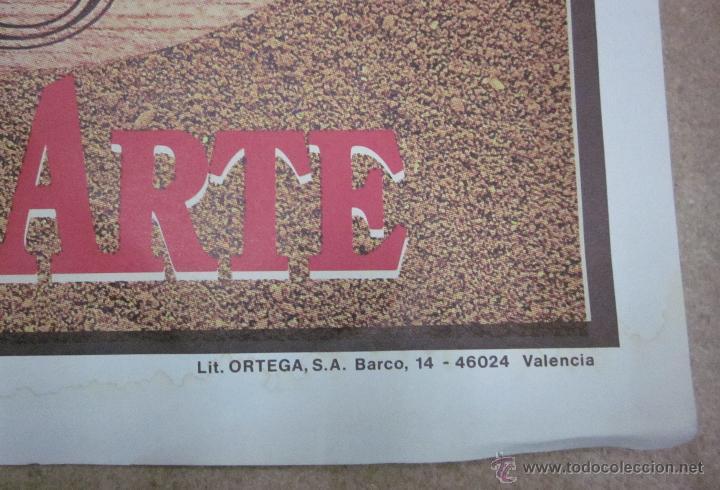 Carteles Toros: CARTEL GRANDE TOROS VALENCIA - AÑO 1992 - LITOGRAFIA - RUANO LLOPIS - Foto 6 - 51354641