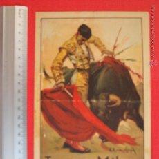 Carteles Toros: PROGRAMA TAURINO- PLAZA DE TOROS DE MÁLAGA- 18 DE JULIO DE 1939. Lote 51486468