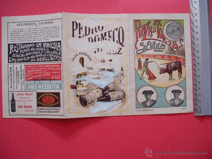 Carteles Toros: PROGRAMA TAURINO- PLAZA DE TOROS DE SEVILLA -1913 - 31 DE AGOSTO - Foto 3 - 51487144