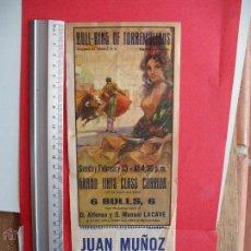 Carteles Toros: CARTELES TOROS : PLAZA DE TOROS DE TORREMOLINOS 1972. Lote 51522945